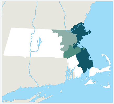 Our Massachusetts Hard Money Lending Areas