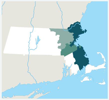 Our Massachusetts Hard Money Lending Areas