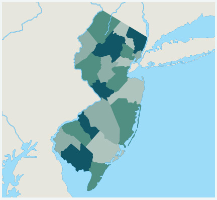 Our Hard Money Lending Areas In New Jersey
