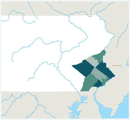 Pennsylvania Hard Money Lending Areas