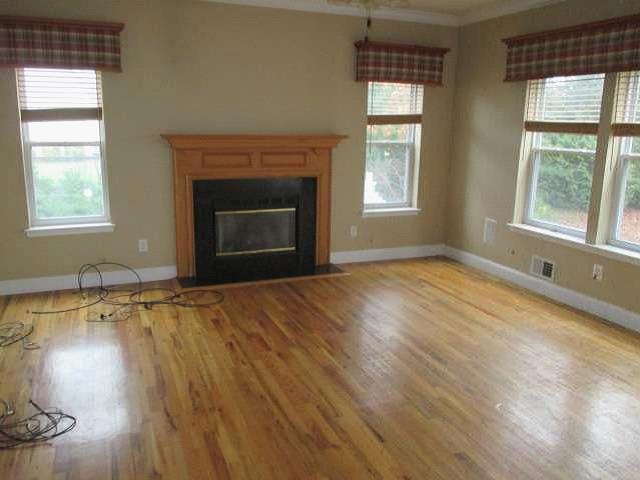 NY hard money lender living room rehab