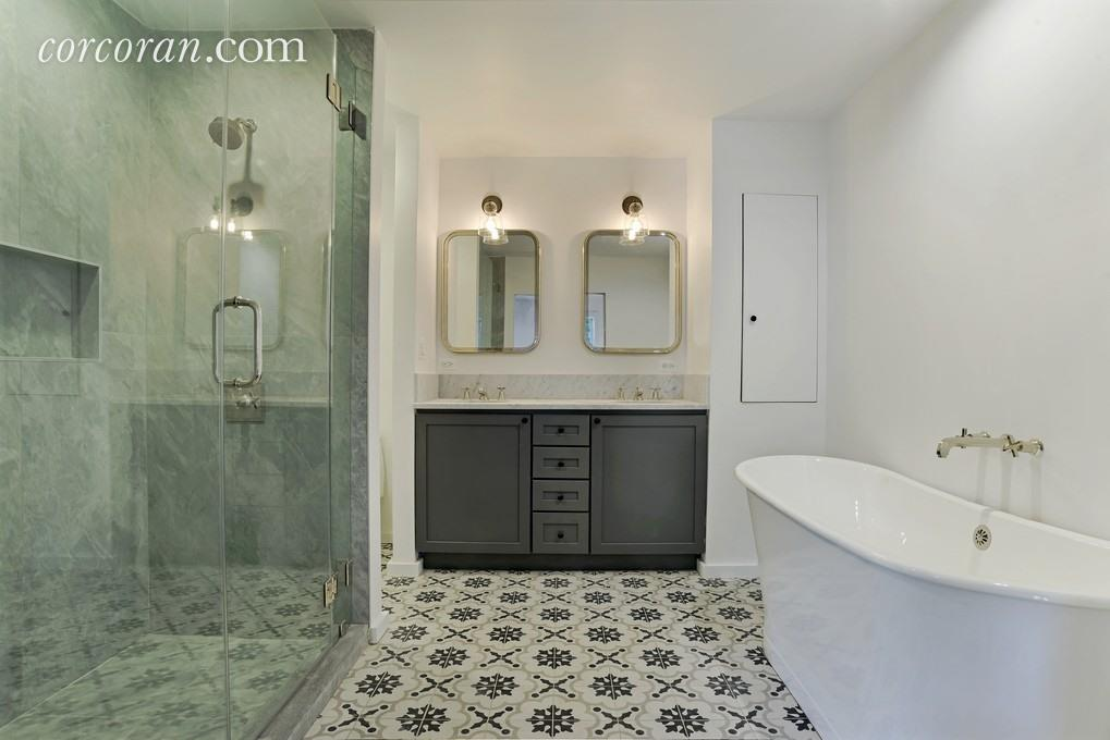 Brooklyn bathroom after renovations funded by a ny private hard money lender