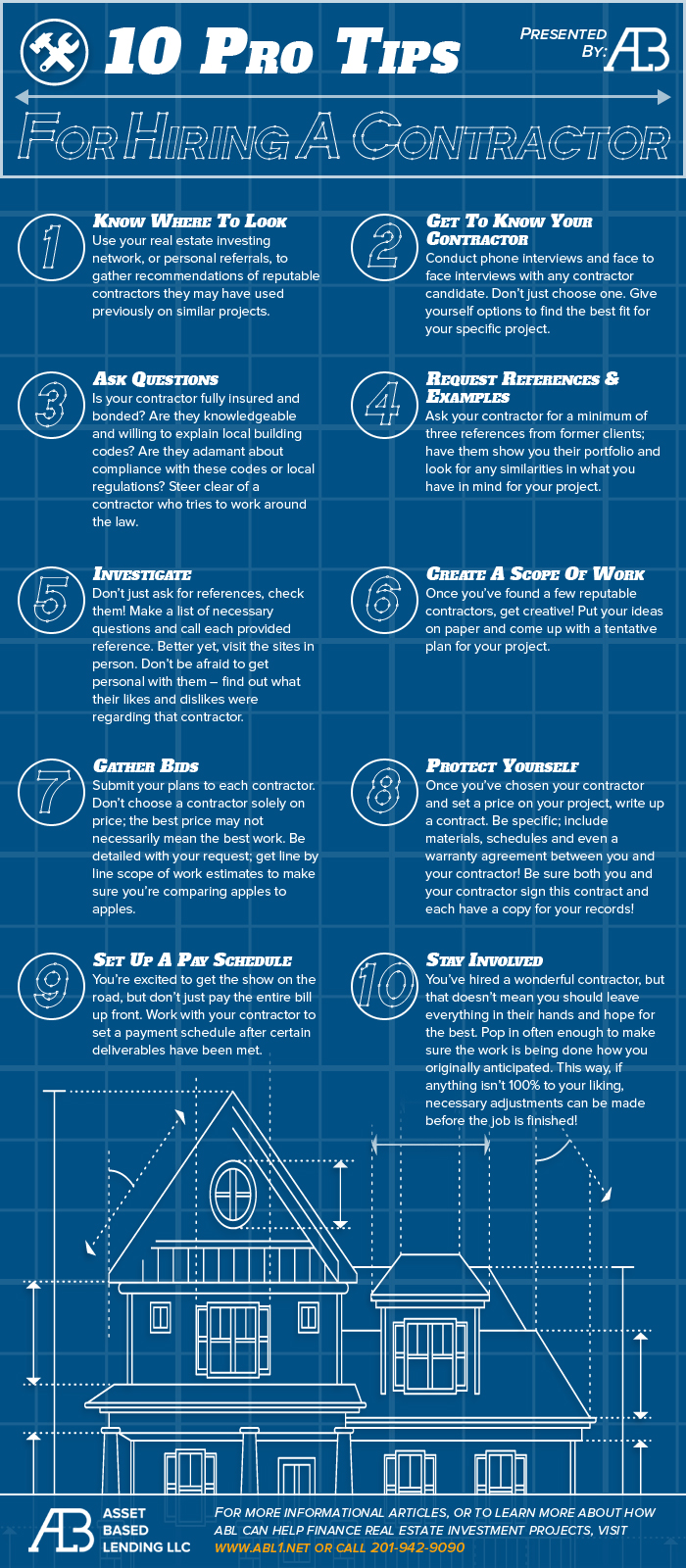 10 Pro Tips For Hiring A Contractor