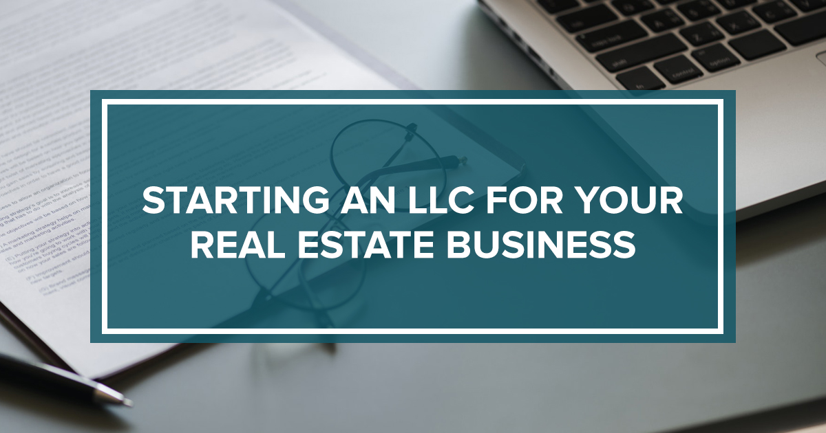 How to start an llc for real estate