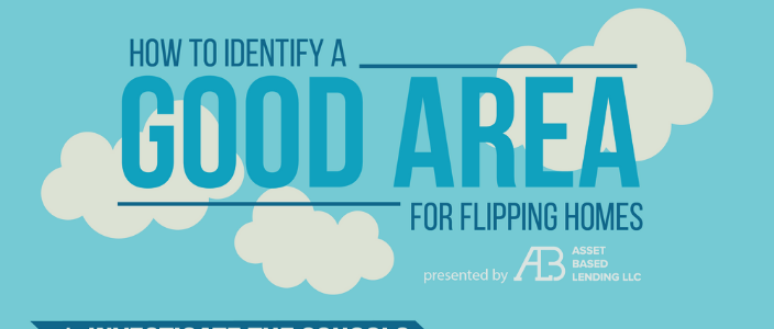 Finding a good area infographic