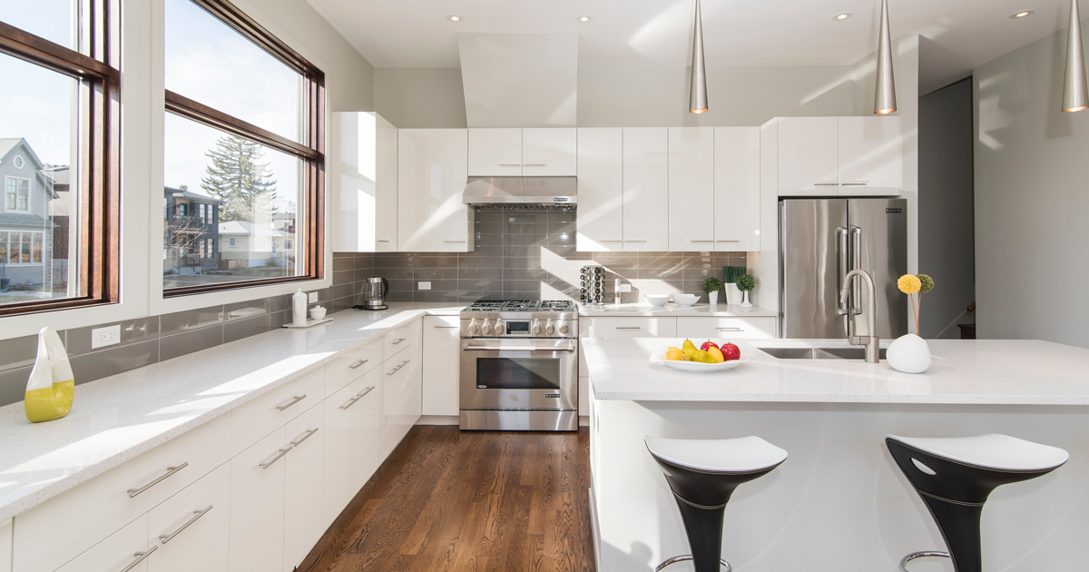 Kitchen renovations for fix and flips