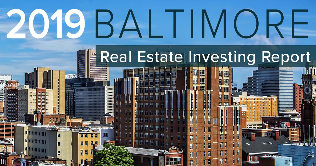 Baltimore Real Estate Investing Data